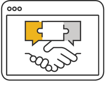 consulting collaborate handshake