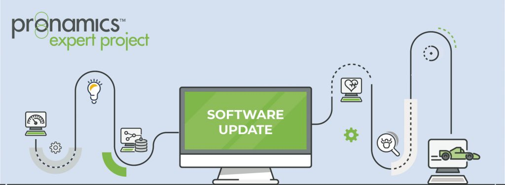 Pronamics Export Project Software Update